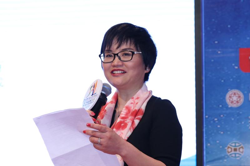 浙江健盛集團股份有限公司董事、副總裁郭向紅。