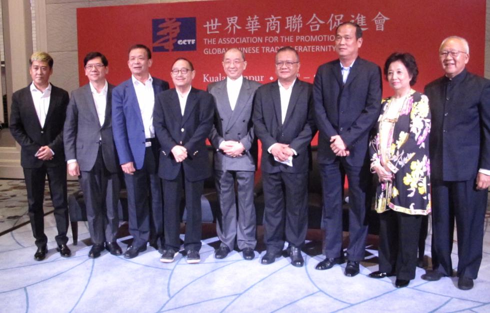 大馬中資三大銀行代表出席聯誼晚宴。